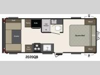 Floorplan - 2015 Keystone RV Summerland 2020QB