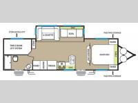 Floorplan - 2015 Forest River RV Salem 27TDSS
