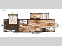 Floorplan - 2015 Forest River RV Salem 29FKBS
