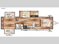 Floorplan - 2015 Forest River RV Salem 31KQBTS