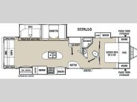 Floorplan - 2015 Coachmen RV Freedom Express Liberty Edition 322RLDS