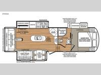 Floorplan - 2015 Forest River RV Wildcat 295RSX eXtraLite