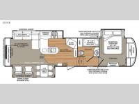 Floorplan - 2015 Forest River RV Wildcat 327CK