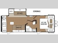 Floorplan - 2015 Dutchmen RV Aspen Trail 2390RKS
