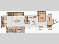 Floorplan - 2014 Cruiser Enterra E-315RLS