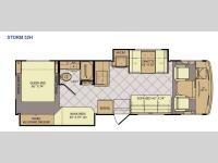 Floorplan - 2015 Fleetwood RV Storm 32H