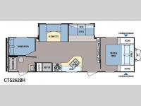 Floorplan - 2015 Dutchmen RV Coleman Expedition CTS262BH