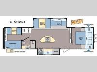 Floorplan - 2015 Dutchmen RV Coleman Expedition CTS312BH