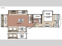 Floorplan - 2015 Forest River RV Blue Ridge 3025RL