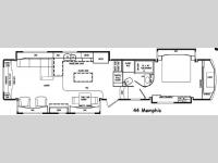 Floorplan - 2015 DRV Luxury Suites Elite Suites 44 Memphis