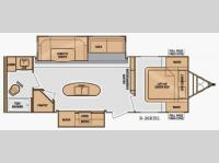 Floorplan - 2014 Cruiser Radiance R 26KISL