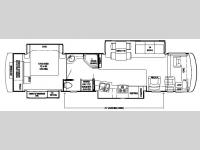 Floorplan - 2007 Newmar Dutch Star DSDP 4024