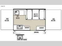Floorplan - 2015 Forest River RV Flagstaff MACLTD Series 206LTD