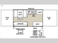 Floorplan - 2015 Forest River RV Flagstaff MACLTD Series 228