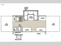 Floorplan - 2015 Forest River RV Flagstaff MACLTD Series 246D