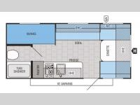 Floorplan - 2015 Jayco Jay Flight SLX 184BH