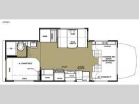 Floorplan - 2015 Forest River RV Sunseeker MBS 2400S