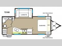 Floorplan - 2015 Forest River RV EVO T2160