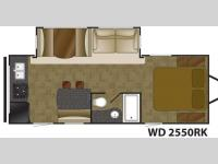 Floorplan - 2015 Heartland Wilderness 2550RK