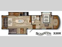 Floorplan - 2015 Grand Design Solitude 320X