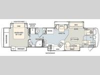 Floorplan - 2006 Monaco Signature Series 42 Chateau IV