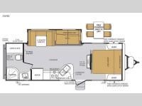 Floorplan - 2015 Forest River RV Wildcat Maxx 26FBS