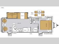 Floorplan - 2015 Forest River RV Wildcat Maxx 27RLS