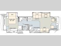 Floorplan - 2006 Monaco Knight 40PDQ