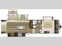 Floorplan - 2015 Keystone RV Cougar 303RLSWE