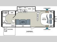 Floorplan - 2015 Dutchmen RV Aerolite 248RBSL