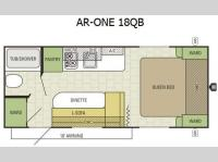 Floorplan - 2015 Starcraft AR-ONE 18QB
