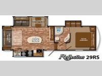 Floorplan - 2015 Grand Design Reflection 29RS