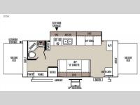Floorplan - 2015 Forest River RV Rockwood Roo 23SS