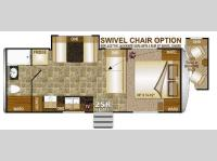 Floorplan - 2014 Northwood Arctic Fox 25R