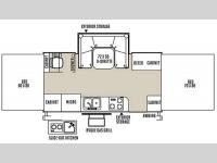 Floorplan - 2015 Forest River RV Rockwood High Wall Series HW277