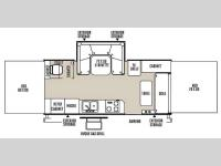Floorplan - 2015 Forest River RV Rockwood High Wall Series HW296