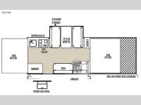 Floorplan - 2015 Forest River RV Rockwood Freedom Series 282TXR
