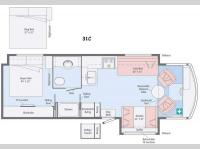 Floorplan - 2015 Itasca Tribute 31C