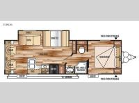 Floorplan - 2015 Forest River RV Wildwood X-Lite 253RLXL