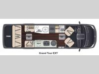 Floorplan - 2015 Airstream RV Grand Tour EXT Grand Tour EXT
