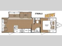 Floorplan - 2015 Dutchmen RV Aspen Trail 2780RLS