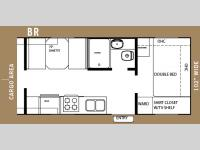 Floorplan - 2006 Forest River RV Work and Play 28 BR