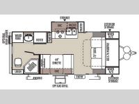 Floorplan - 2015 Forest River RV Rockwood Mini Lite 2304KS