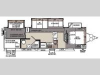 Floorplan - 2015 Forest River RV Rockwood Signature Ultra Lite 8311WS