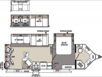 Floorplan - 2015 Forest River RV Rockwood Ultra V 2715VS