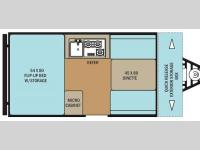 Floorplan - 2015 Coachmen RV Clipper Camping Trailers C12RBST
