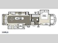 Floorplan - 2015 Forest River RV Sierra 330RLS
