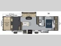 Floorplan - 2015 Keystone RV Carbon 33