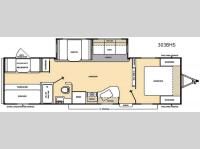 Floorplan - 2015 Coachmen RV Catalina 303BHS