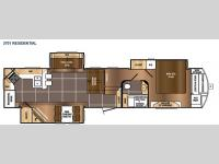 Floorplan - 2015 Prime Time RV Sanibel 3701